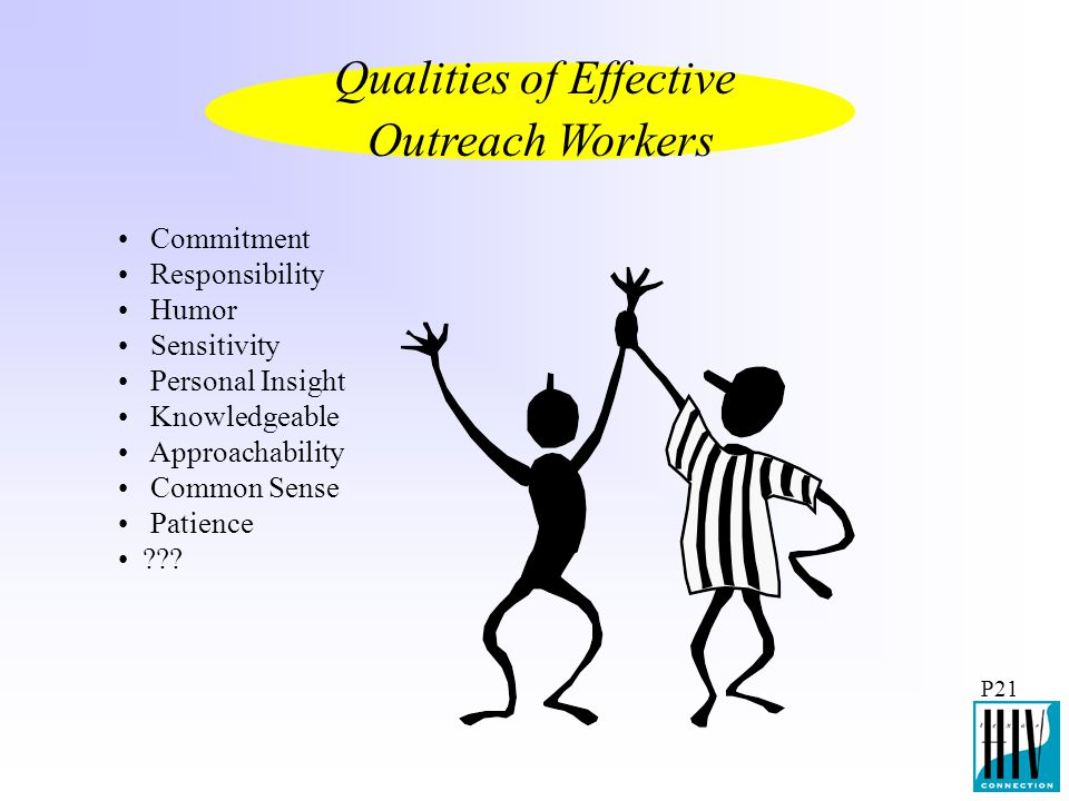 Qualities of Effective