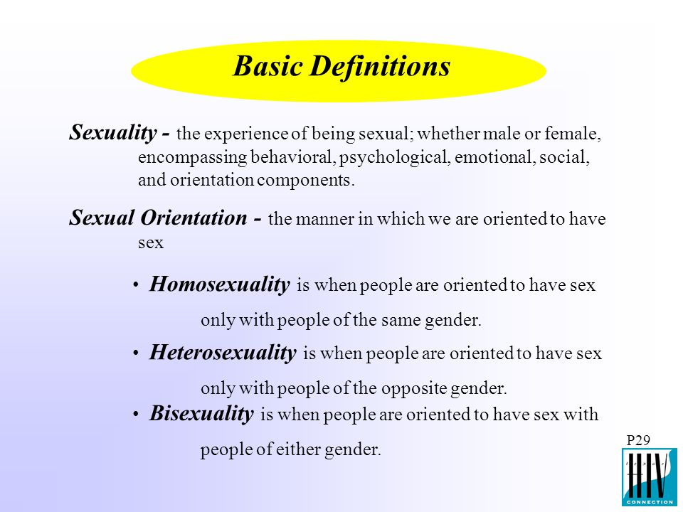 Basic Definitions