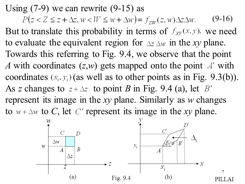 Using (7-9) we can rewrite (9-15) as