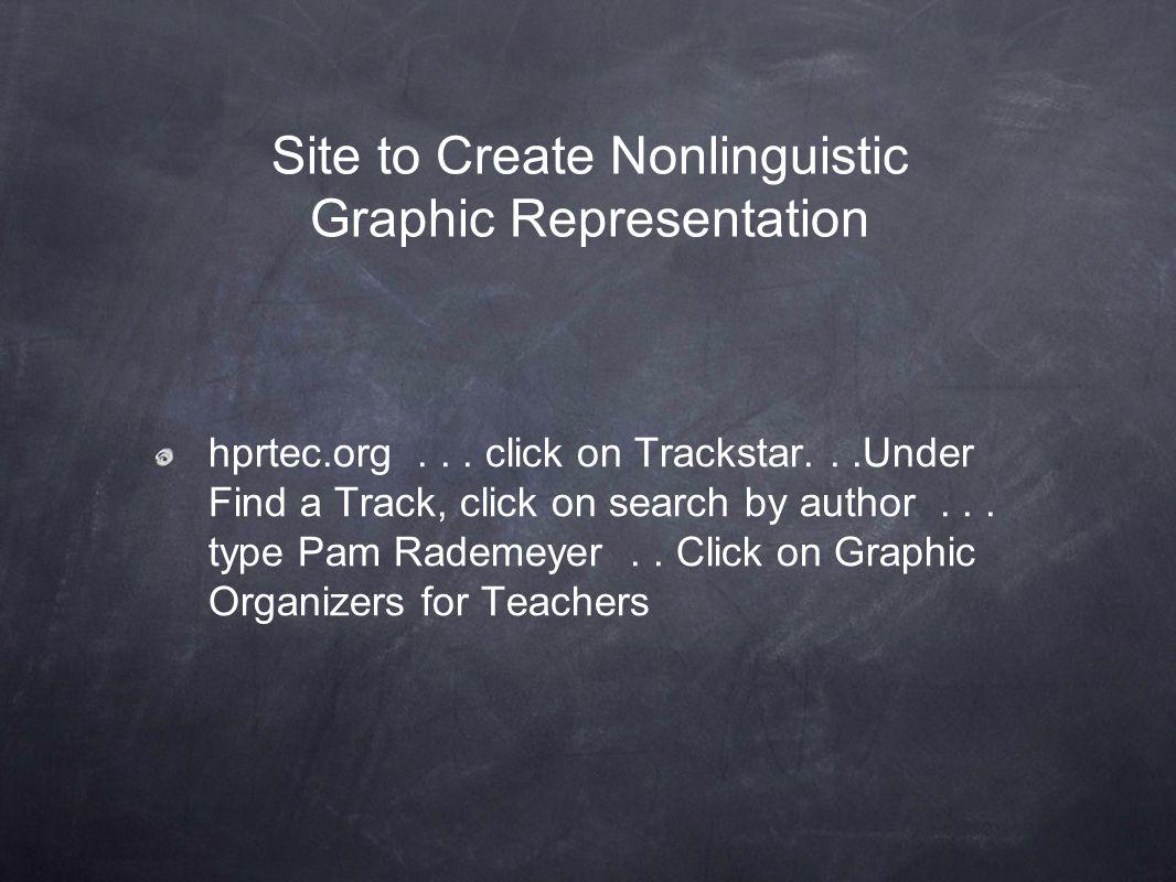 Site to Create Nonlinguistic Graphic Representation