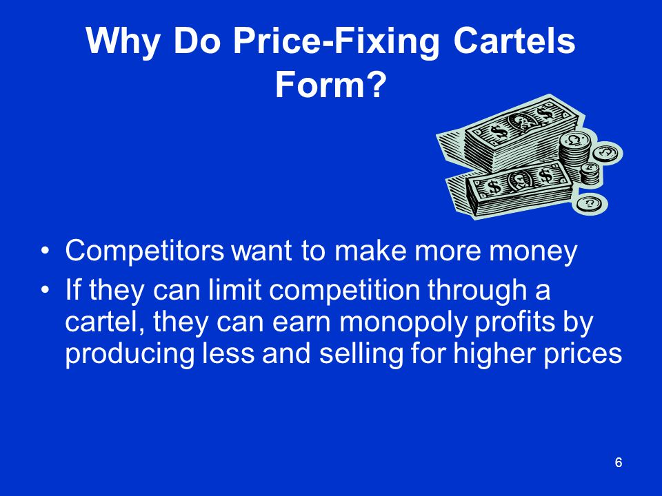 Why Do Price-Fixing Cartels Form