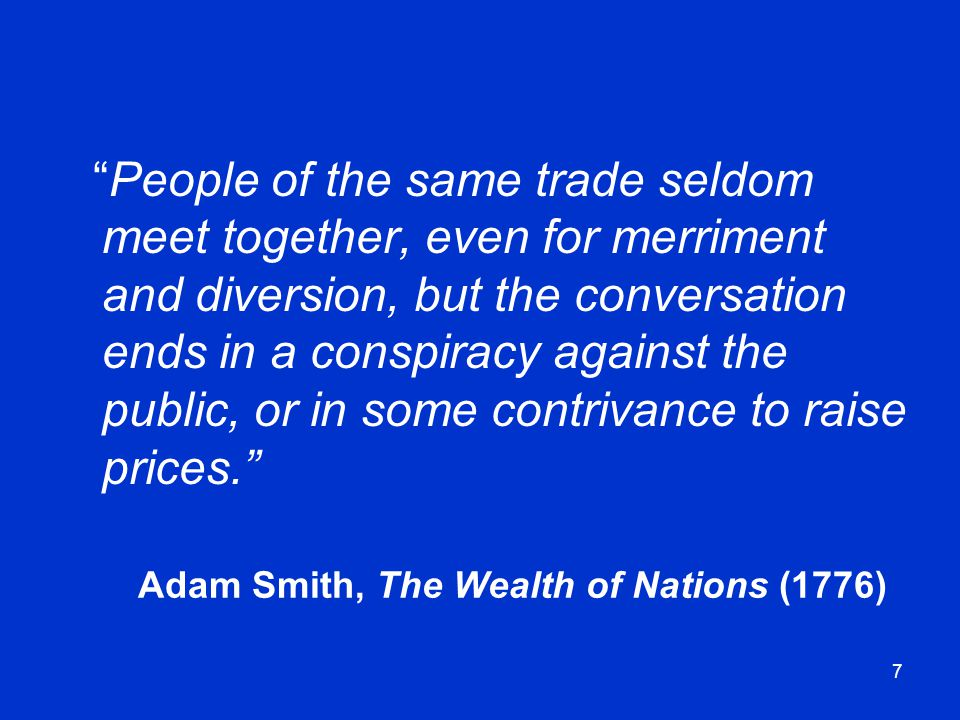 Adam Smith, The Wealth of Nations (1776)