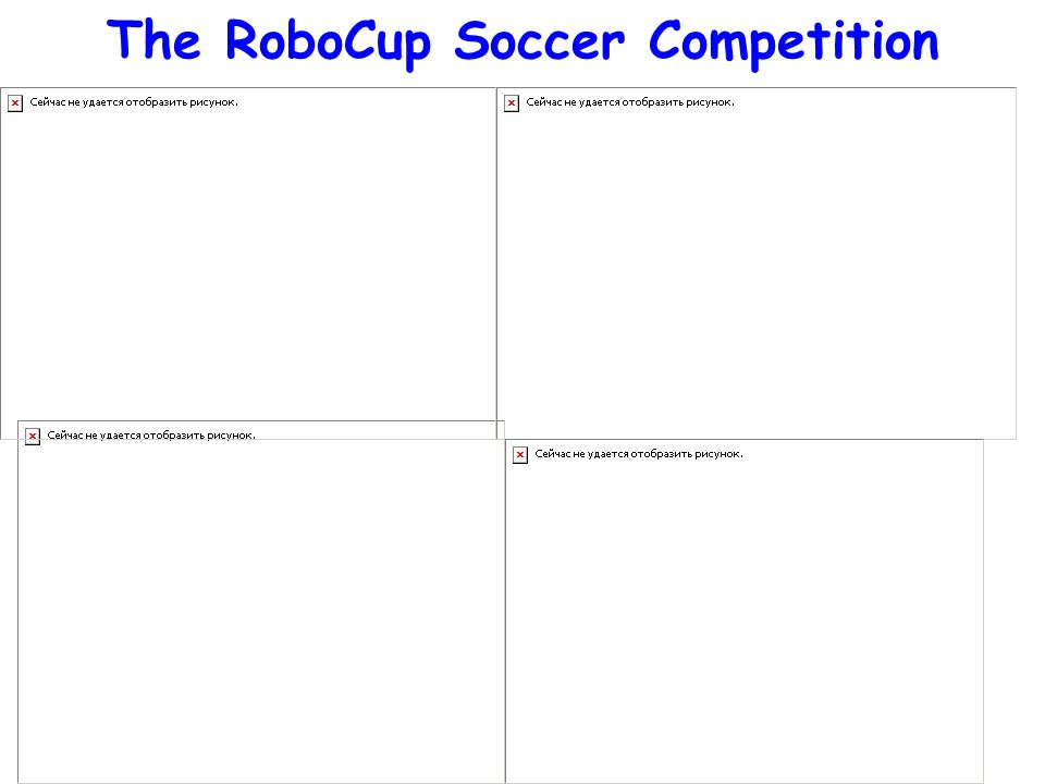 The RoboCup Soccer Competition