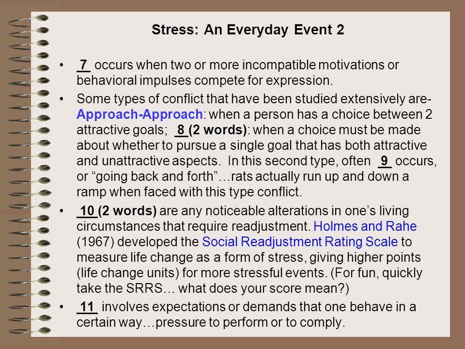Stress: An Everyday Event 2