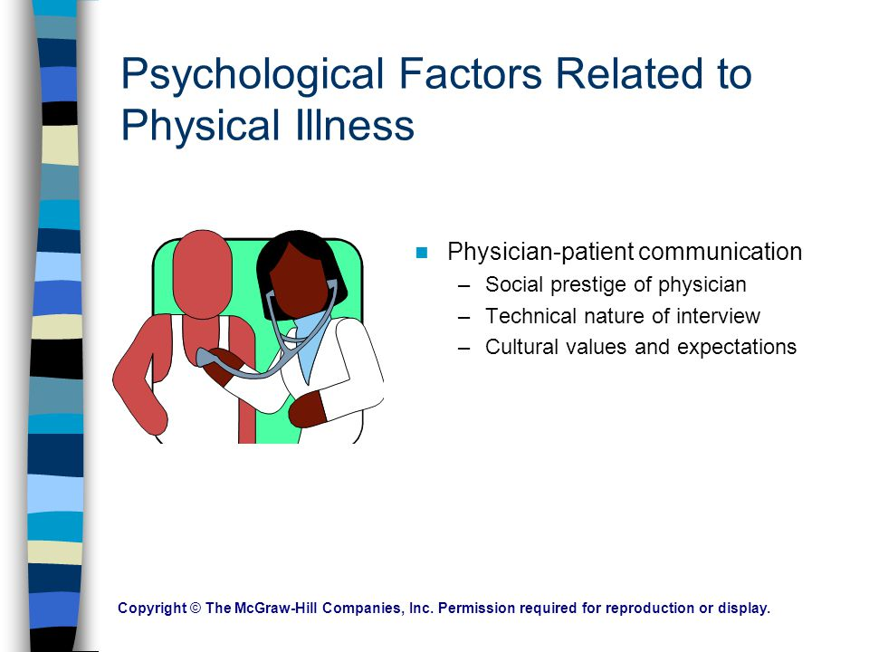 Psychological Factors Related to Physical Illness