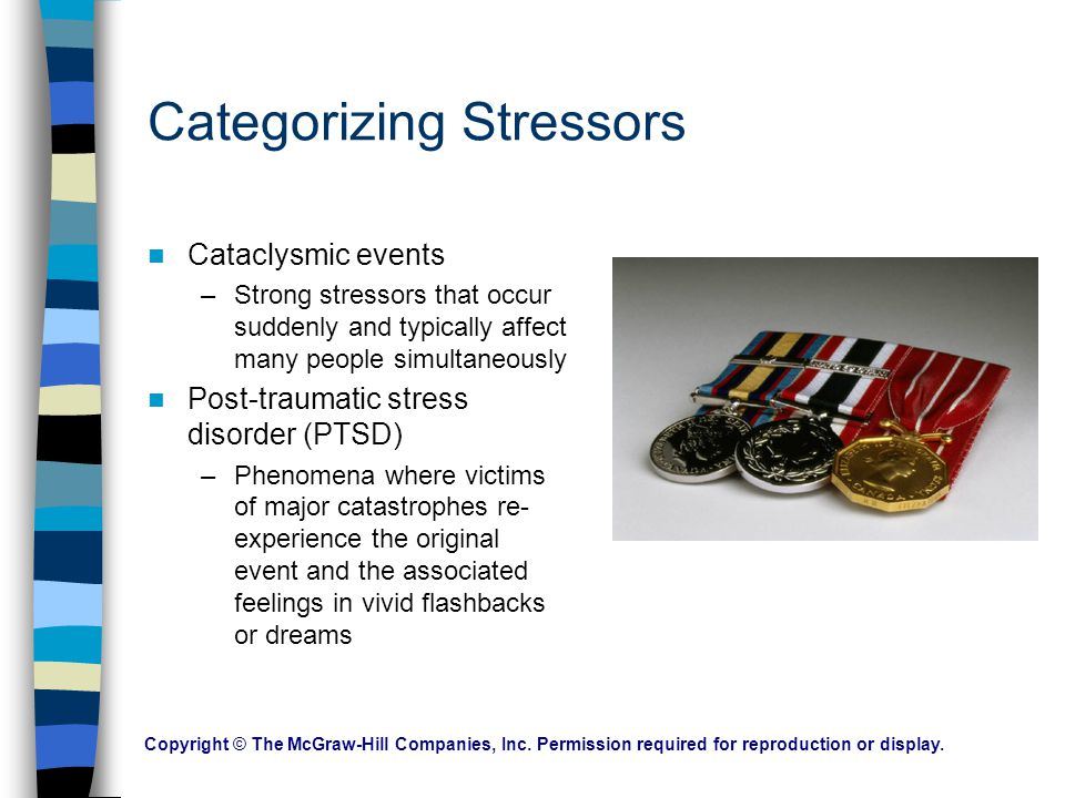 Categorizing Stressors