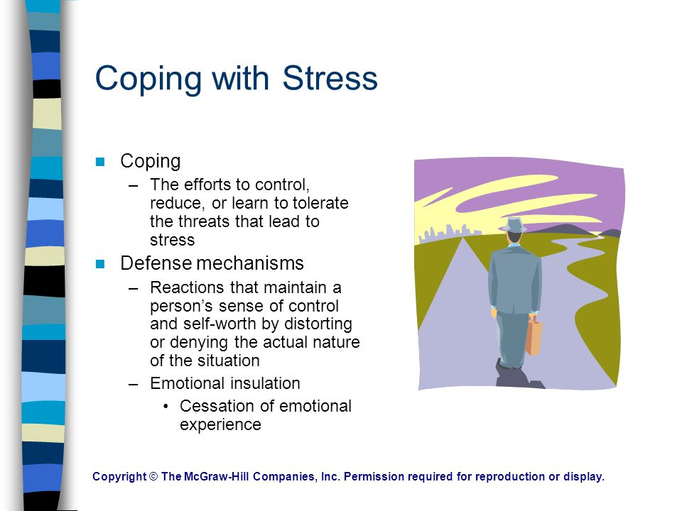 Coping with Stress Coping Defense mechanisms