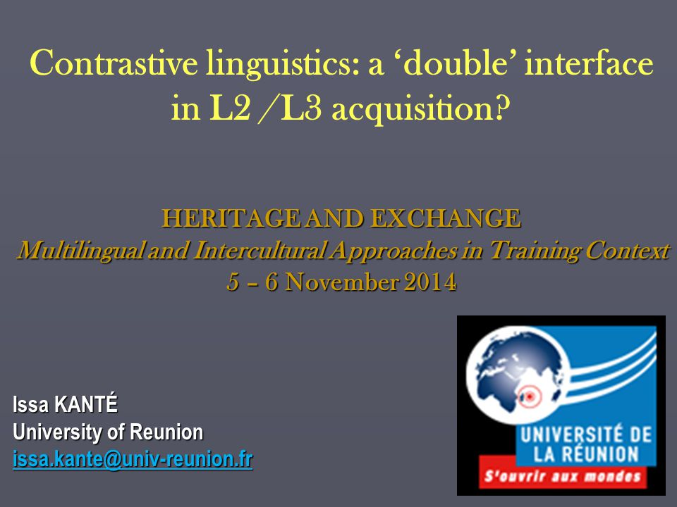Multilingual and Intercultural Approaches in Training Context