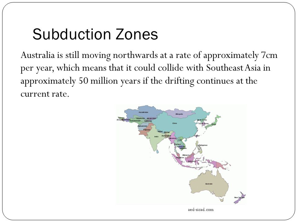 Subduction Zones