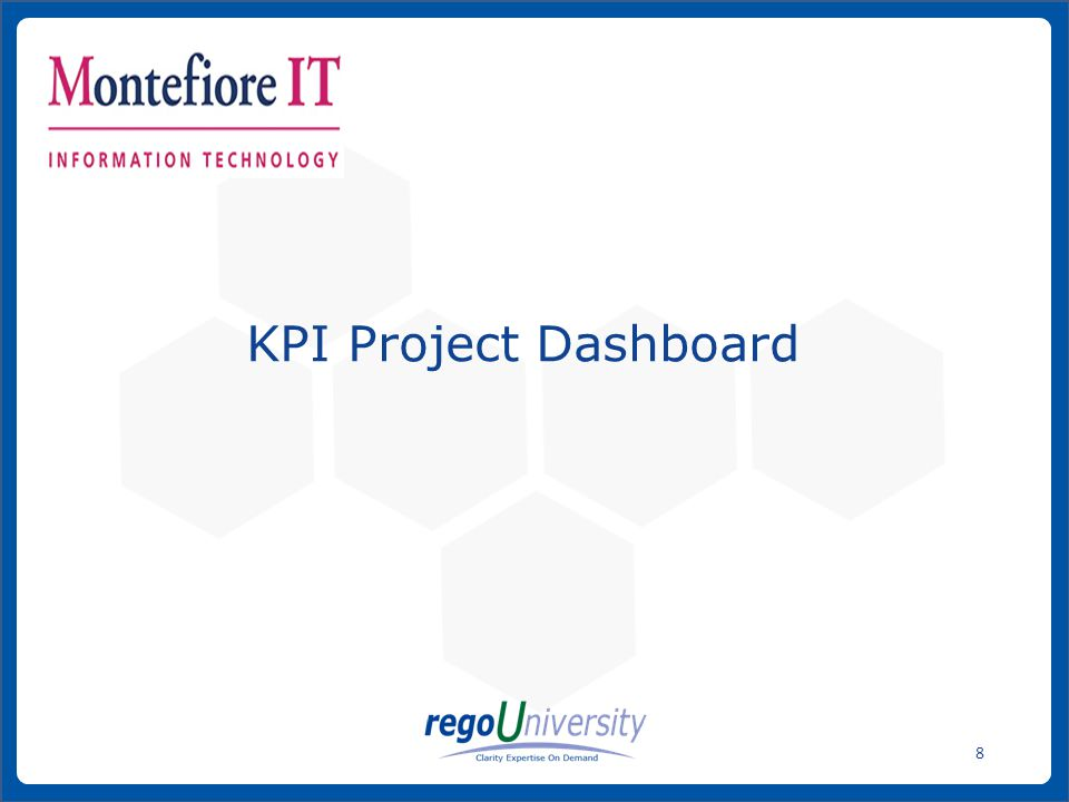 KPI Project Dashboard