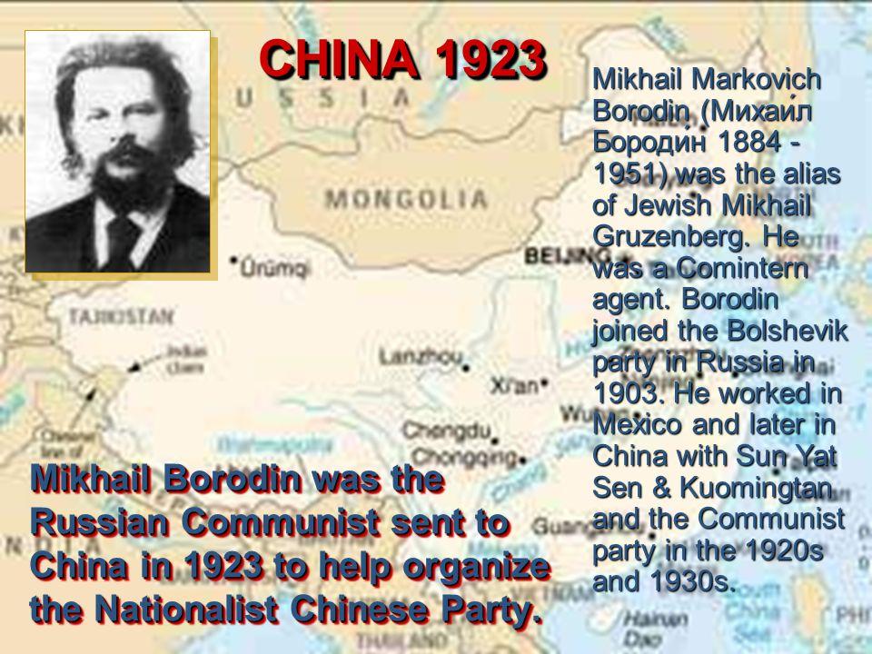 CHINA 1923