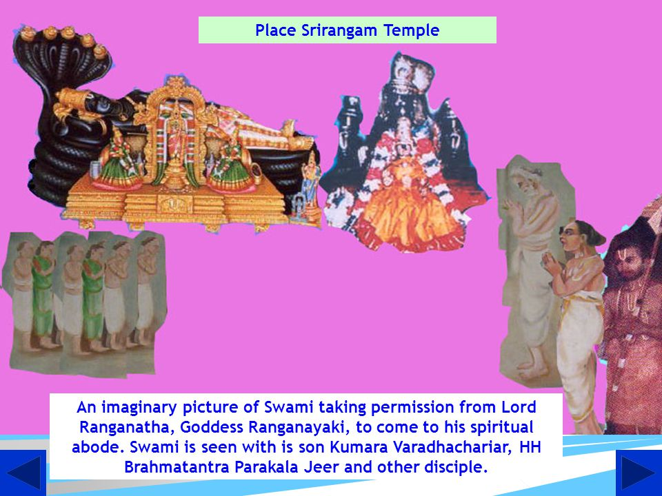 Place Srirangam Temple