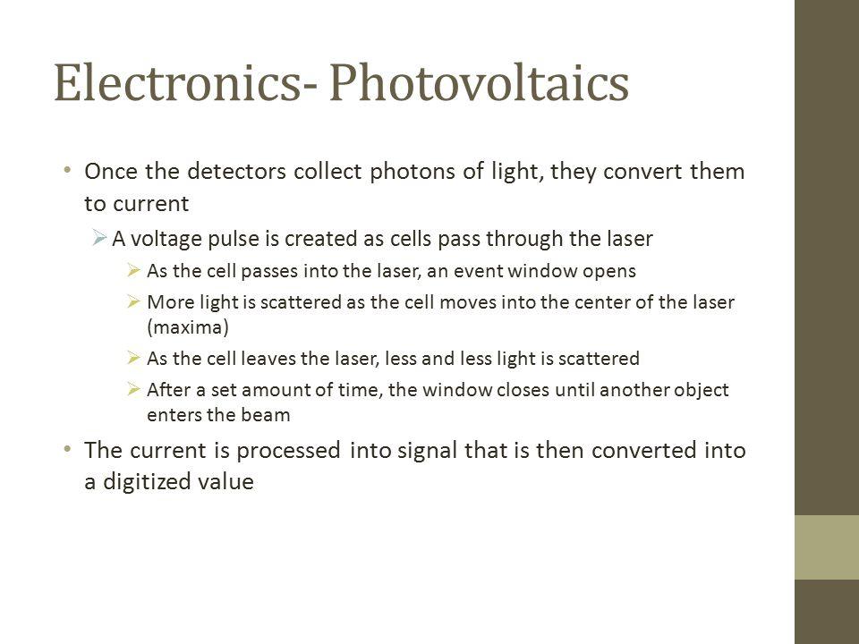 Electronics- Photovoltaics