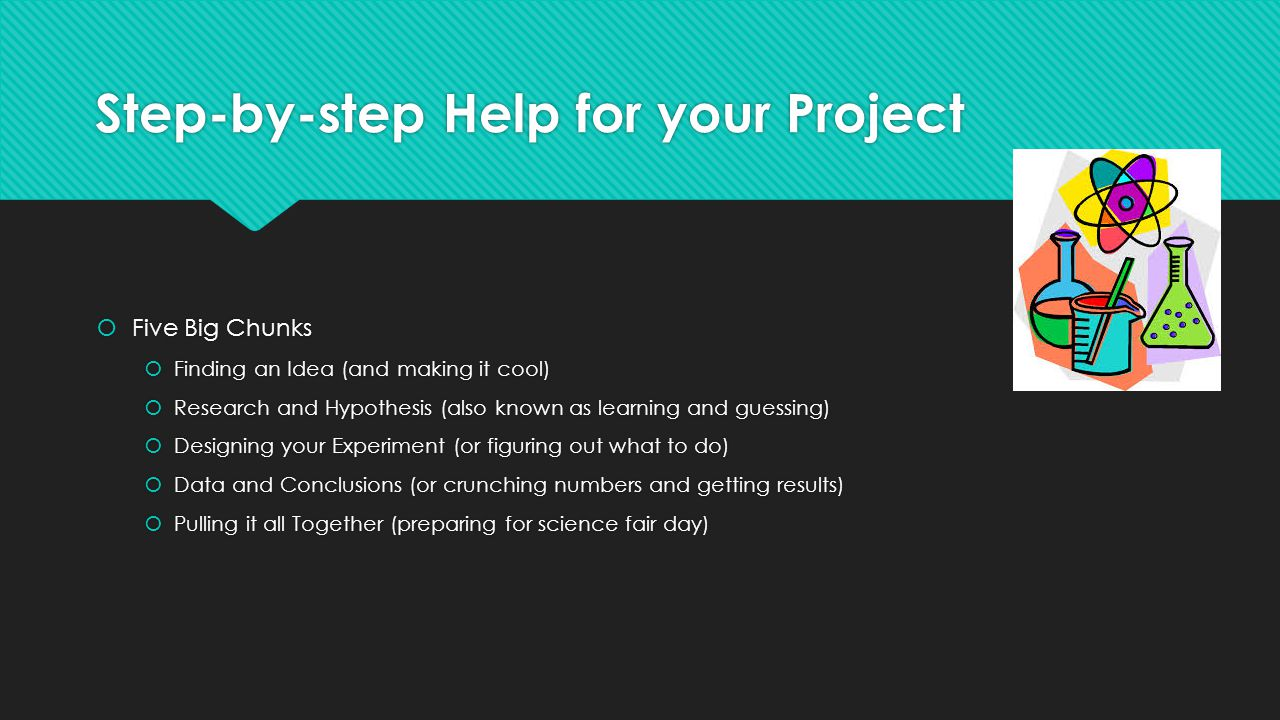 Step-by-step Help for your Project