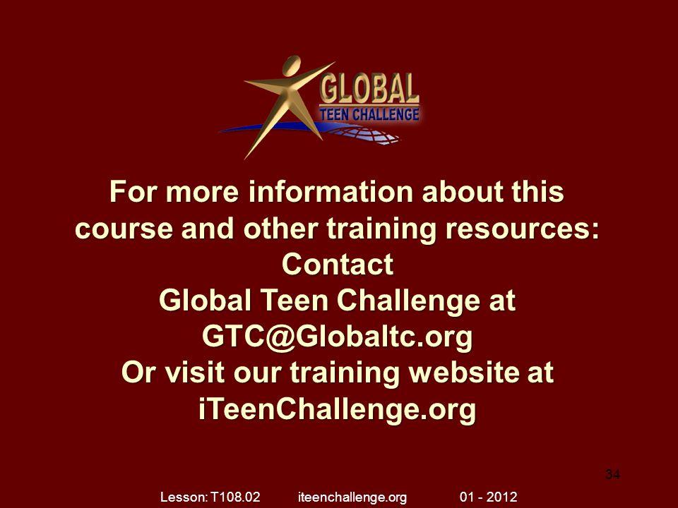 Lesson: T108.02 iteenchallenge.org 01 - 2012