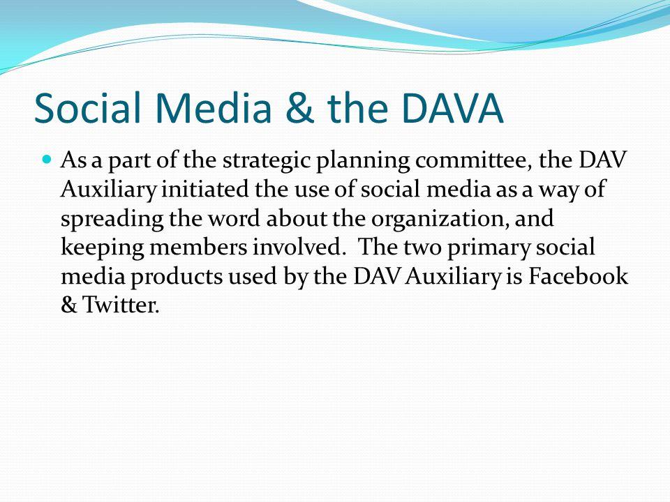 Social Media & the DAVA