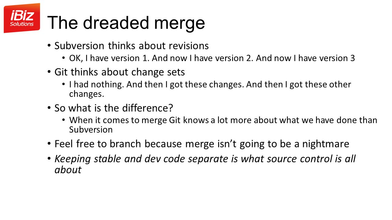 The dreaded merge Subversion thinks about revisions