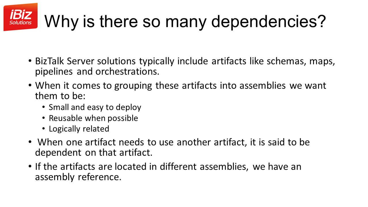 Why is there so many dependencies