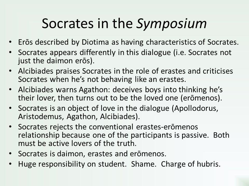Socrates in the Symposium