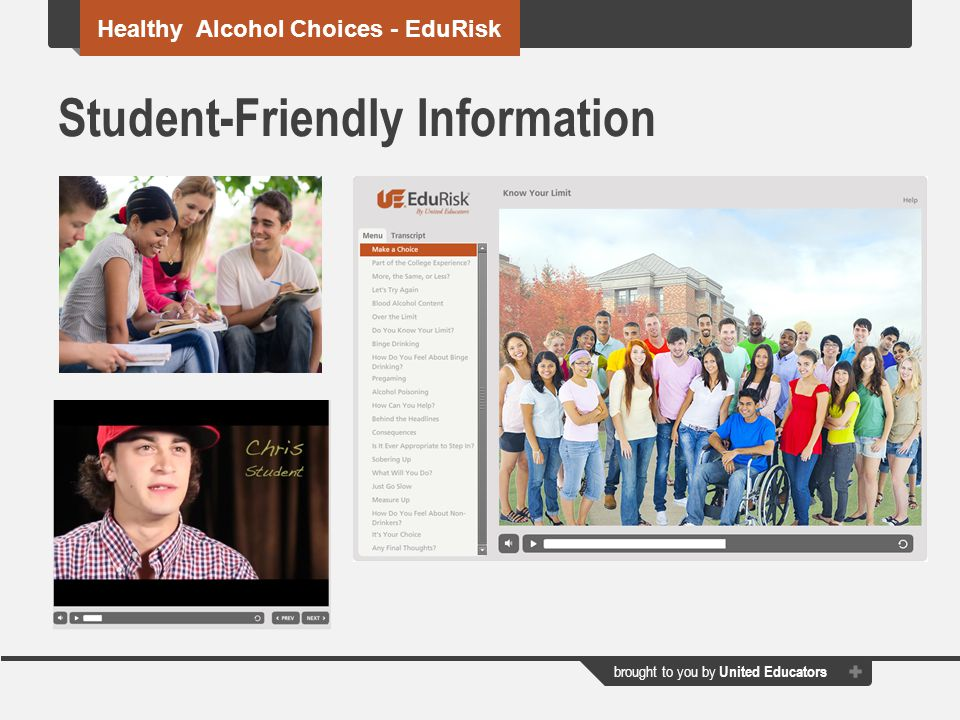 Student-Friendly Information
