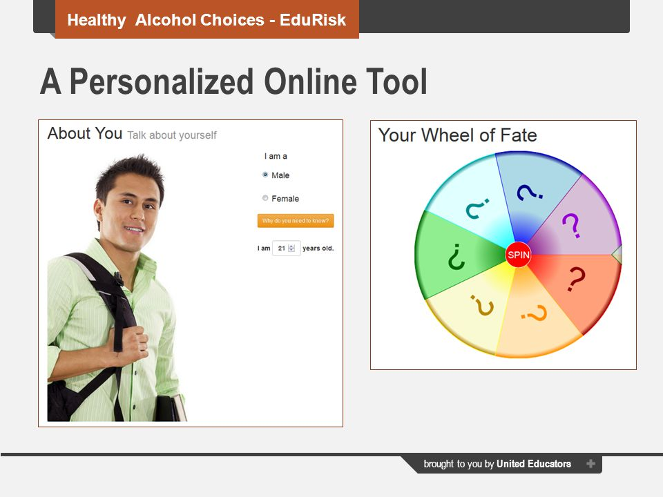 A Personalized Online Tool