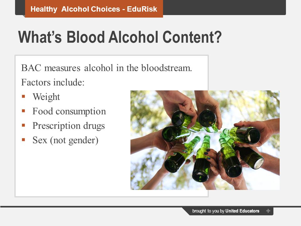 What's Blood Alcohol Content