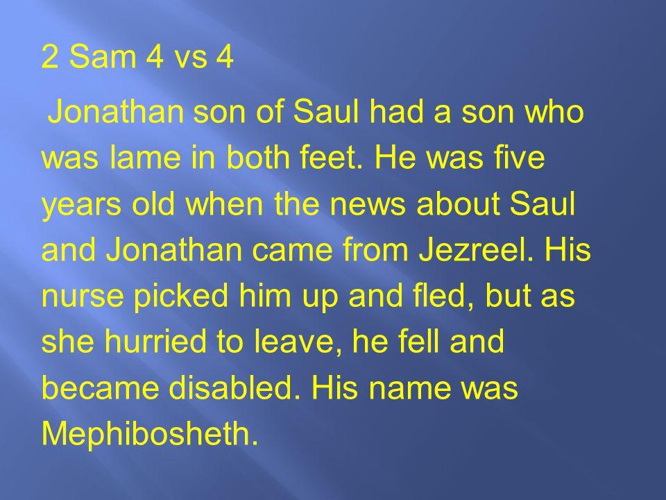 2 Sam 4 vs 4