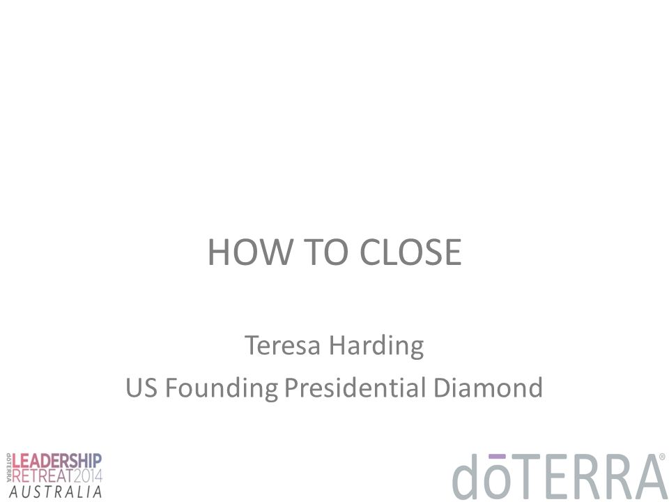 Teresa Harding US Founding Presidential Diamond