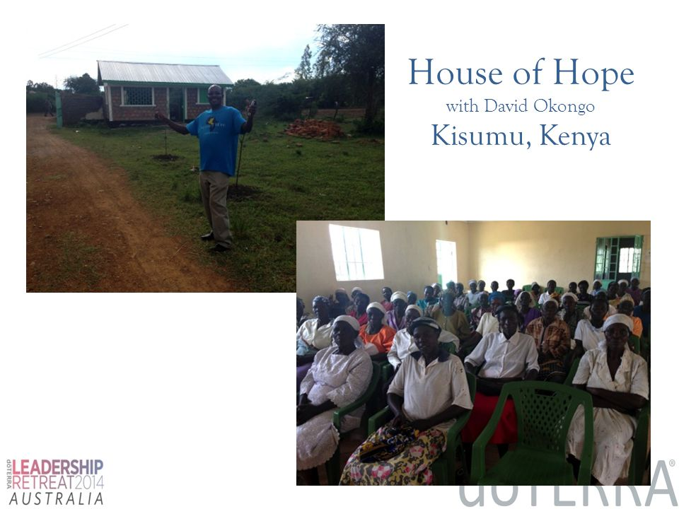 House of Hope with David Okongo Kisumu, Kenya