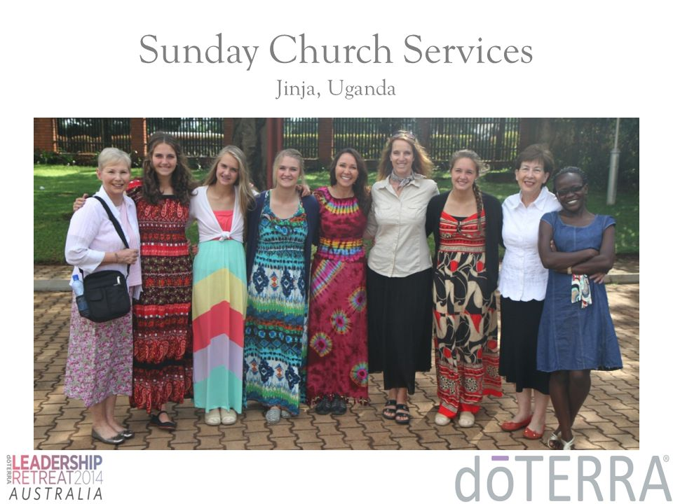 Sunday Church Services Jinja, Uganda