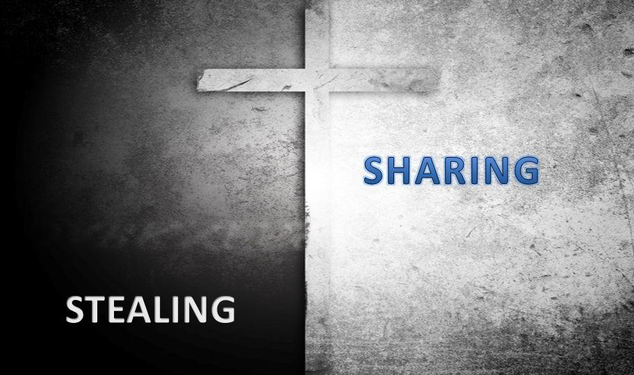 SHARING STEALING
