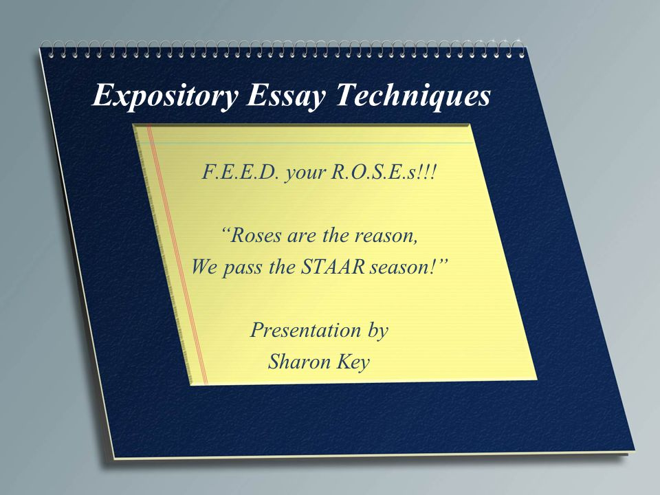 Copy of an expository essay