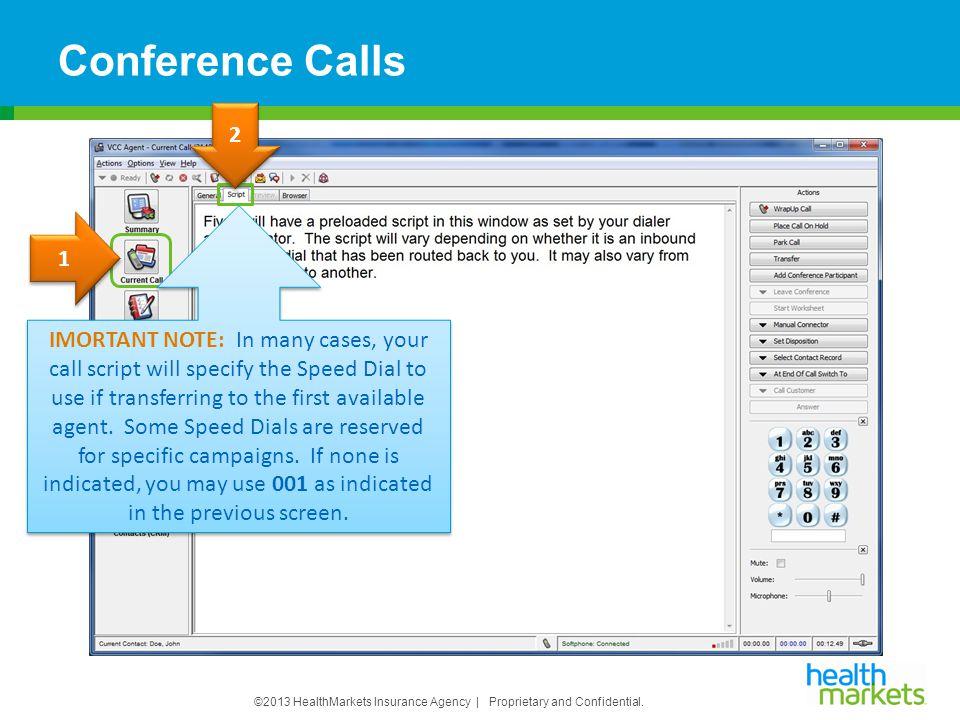 Conference Calls 2.