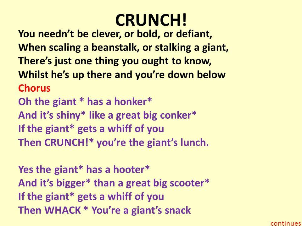 CRUNCH!