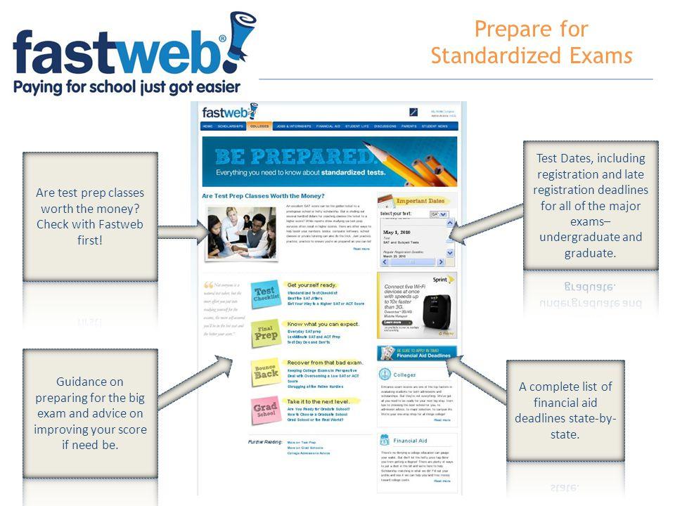 Prepare for Standardized Exams