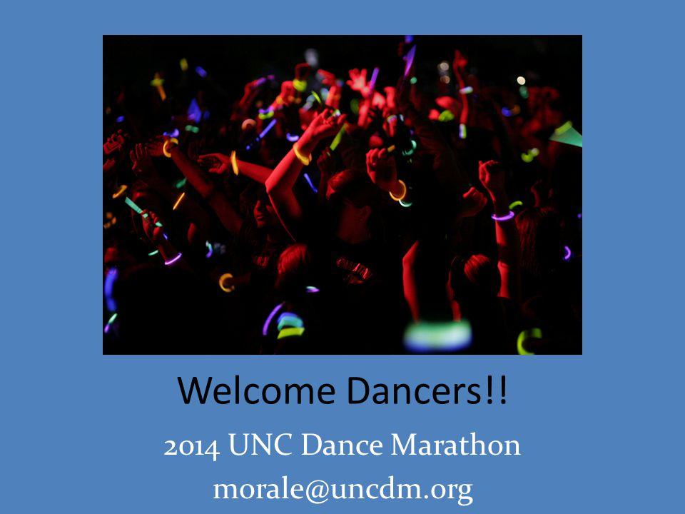 2014 UNC Dance Marathon morale@uncdm.org