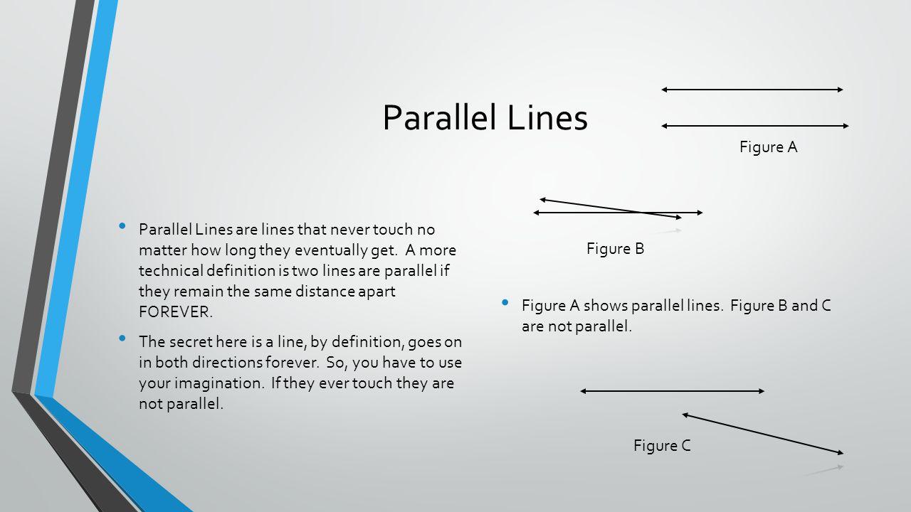 Parallel Lines Figure A