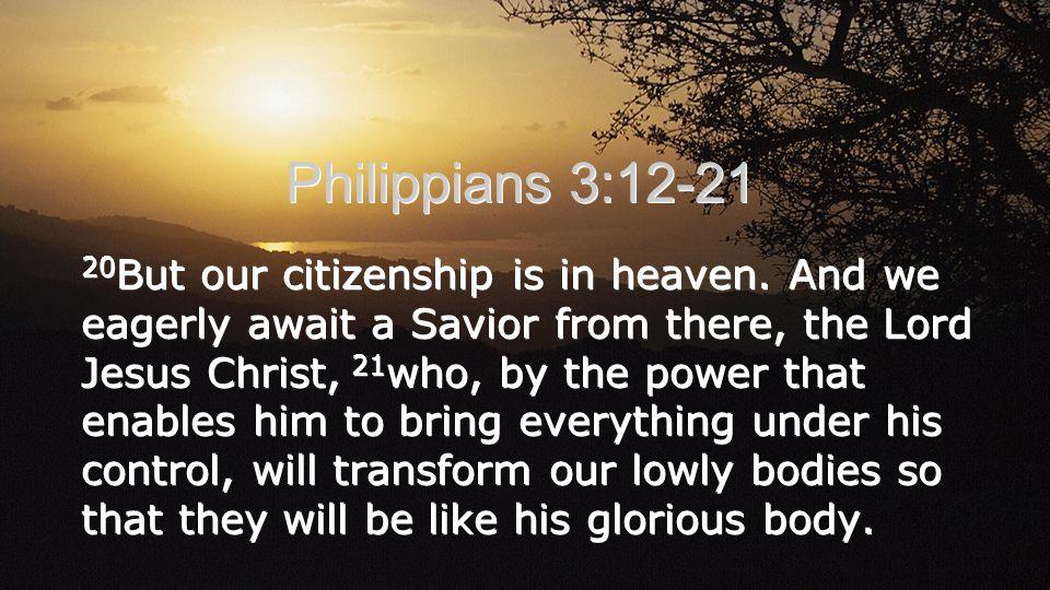 Philippians 3:12-21