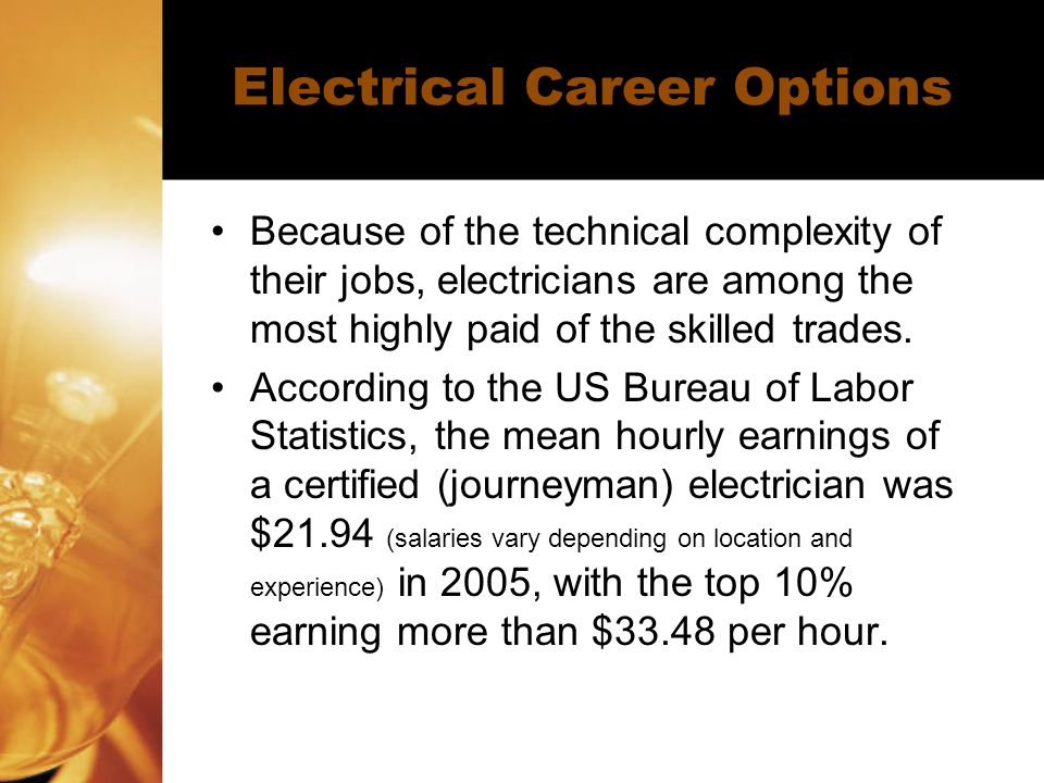 Electrical Career Options