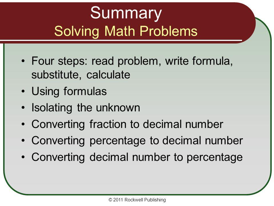 Write my solving a math problem
