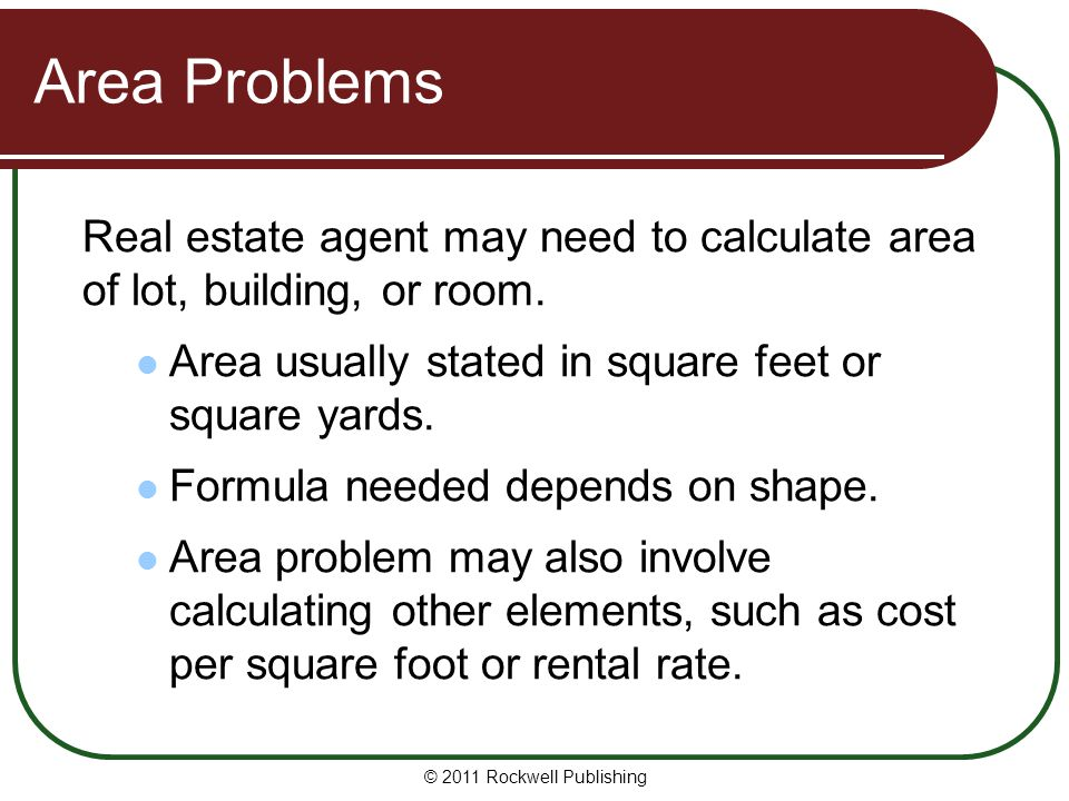 Washington real estate fundamentals ppt download for Cost to build calculator free