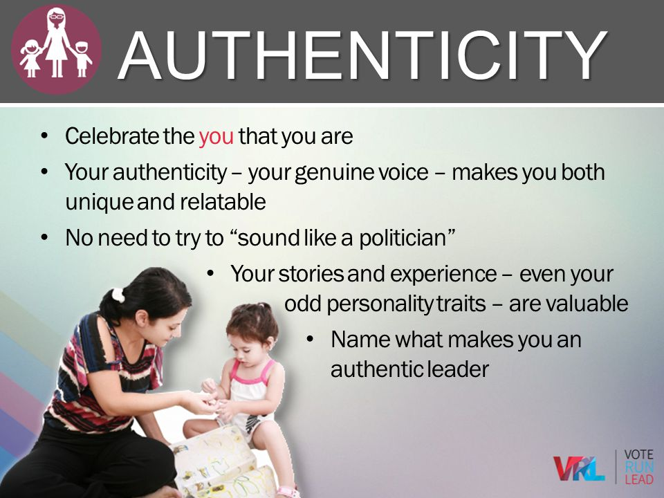 Authenticity Celebrate the you that you are