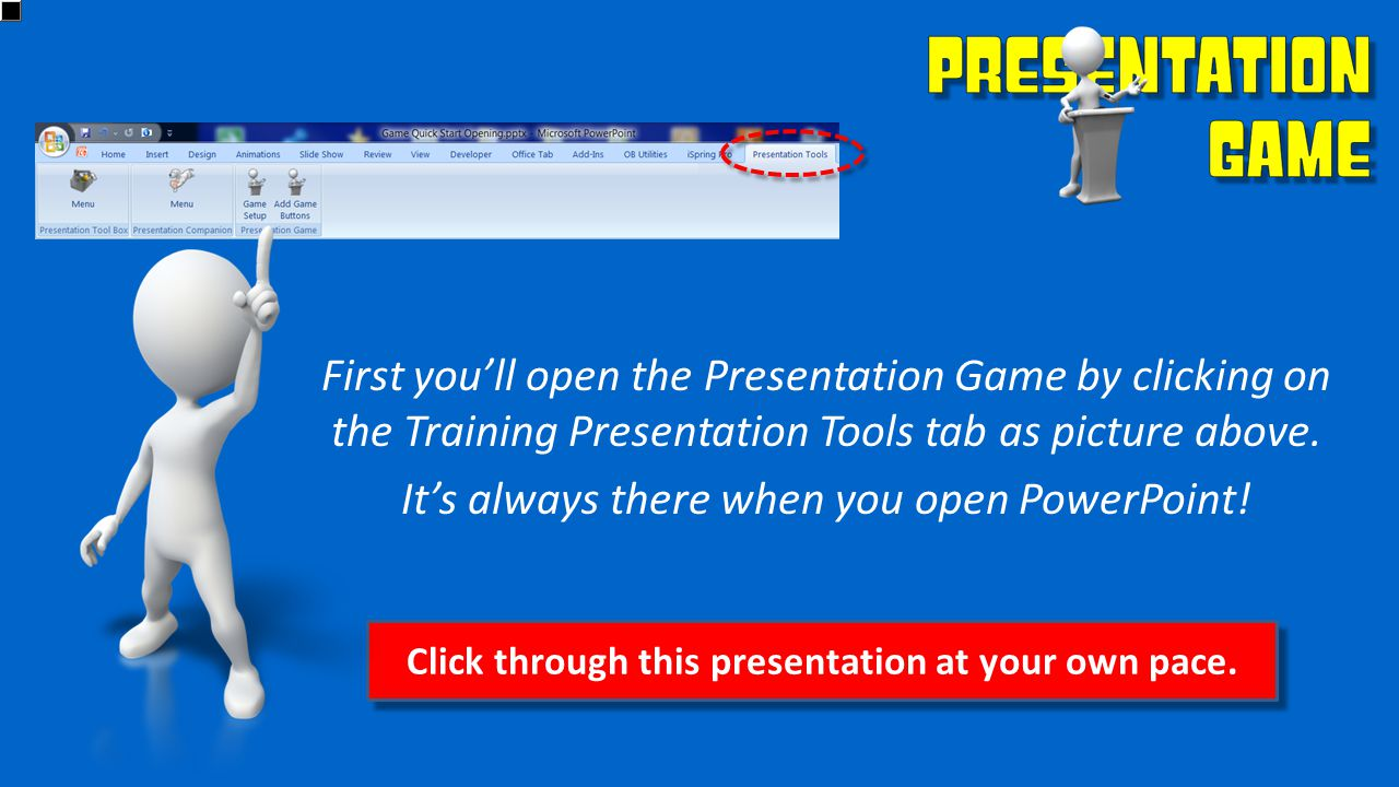 Click through this presentation at your own pace.