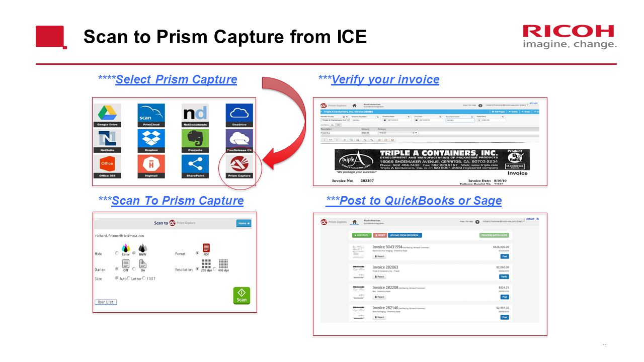Scan to Prism Capture from ICE