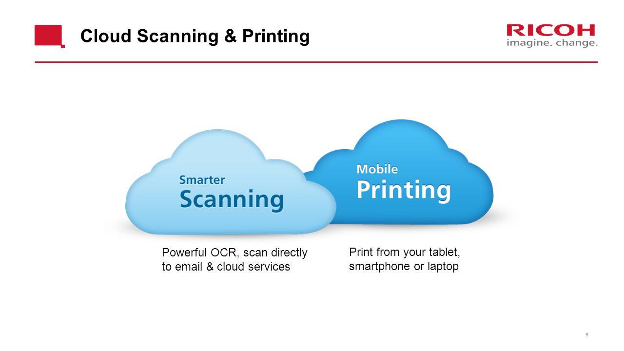Cloud Scanning & Printing