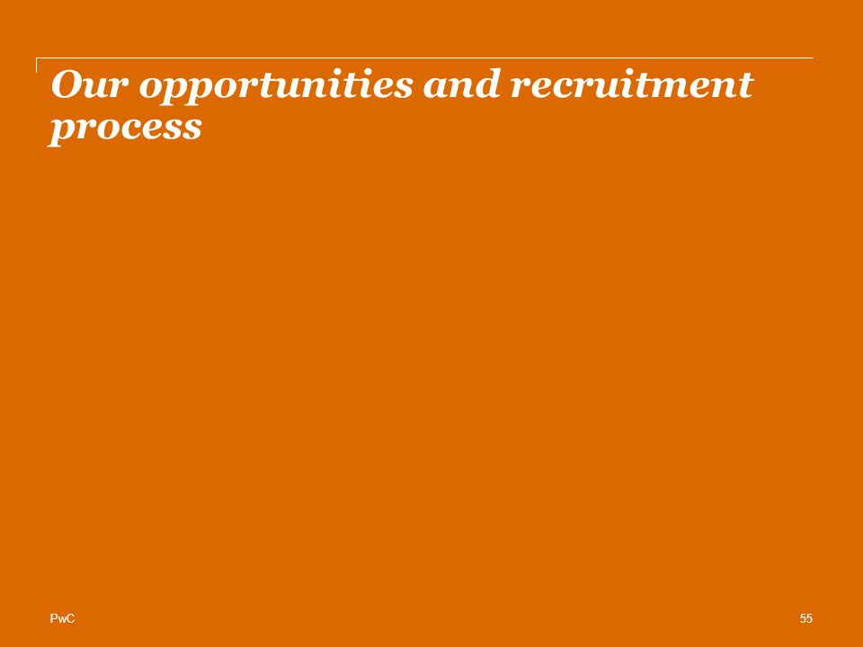 Our opportunities and recruitment process