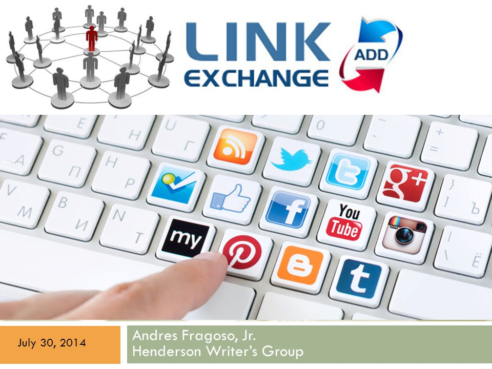 Link Exchange + Social Media Explained