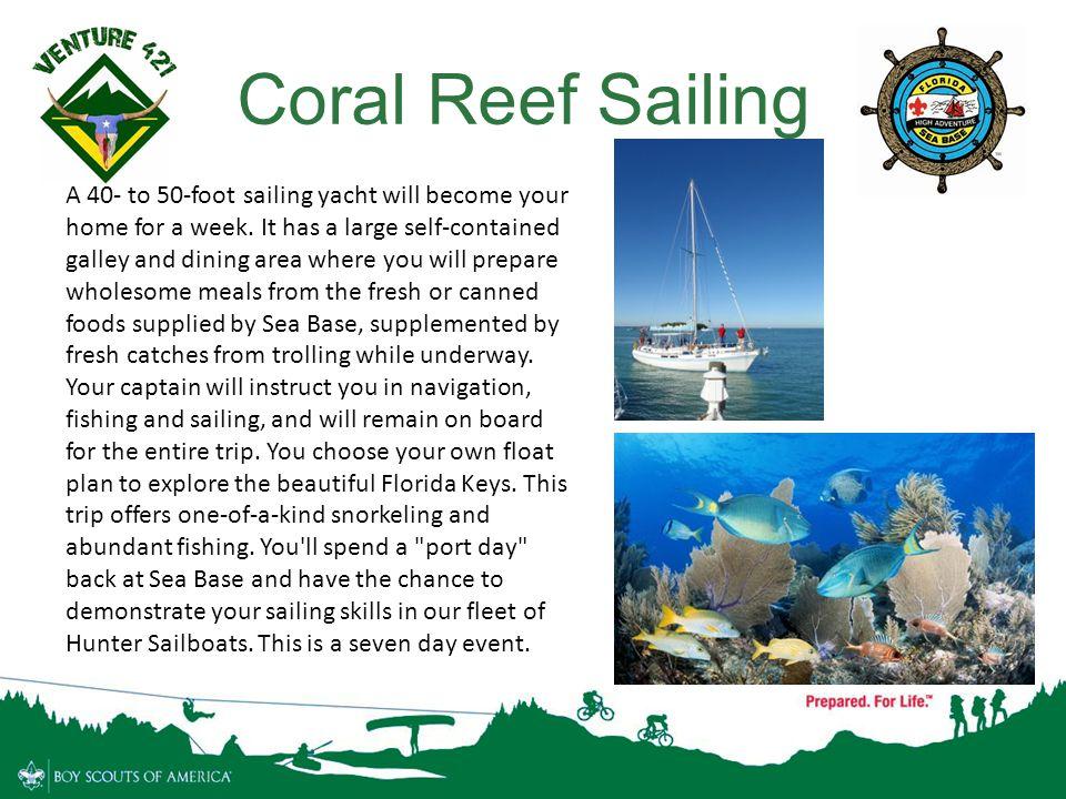 Coral Reef Sailing