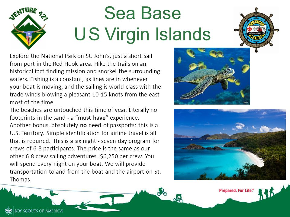 Sea Base U S Virgin Islands