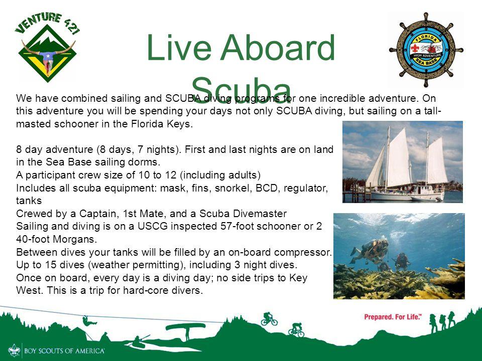 Live Aboard Scuba